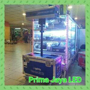 Lampu LED New Follow Spot LED 330 Biru