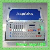 Aksesoris Lampu Control Mixer DMX 512 Disco Hardcase