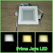 Lampu Downlight Kotak 6 Watt 3 Warna