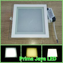 Lampu Downlight Kotak 3 Warna 18 Watt