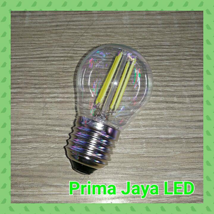 Jual Lampu Bohlam Edison LED Filament 4 Watt Harga Murah