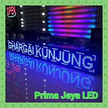 Lampu LED Display Teks Biru 165 X 21 Cm