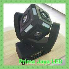 Lampu LED Kubik Moving 60 Watt