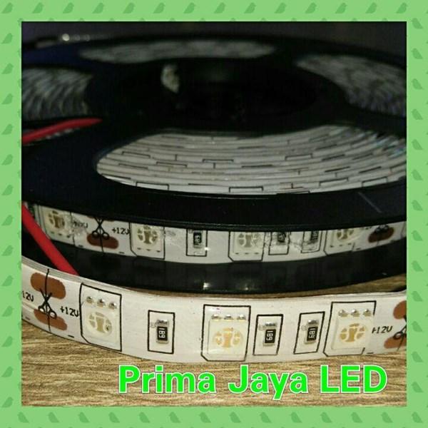 Lampu LED Strip 5050 IP44 Merah