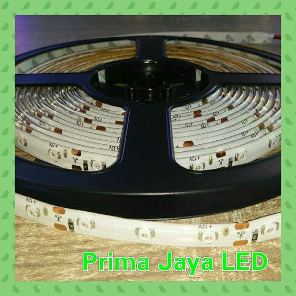 Lampu LED Strip 3528 IP44 Merah