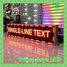Lampu LED Display LED 169 X 37 Cm Outdoor