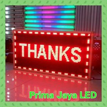 Lampu LED Display LED Running Teks 101 X 53
