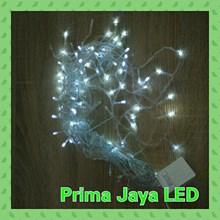 Lampu LED Twinkel Tirai LED Putih