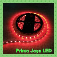 Lampu LED Strip 5050 IP33 Merah