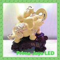 Lampu Hias Mewah Shio Gajah Kendi