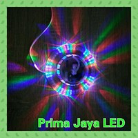 Lampu LED Rotary Wall RGB 1