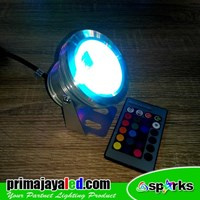 Outdoor 10W RGB LED lights