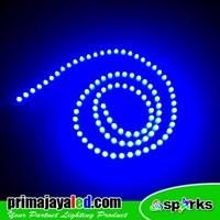 Lampu LED Peluru Biru 12V 1