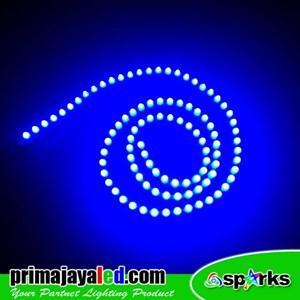 Lampu LED Peluru Biru 12V
