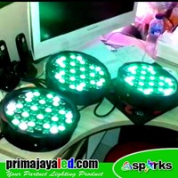 Lampu PAR Paket 3 Par LED Slim