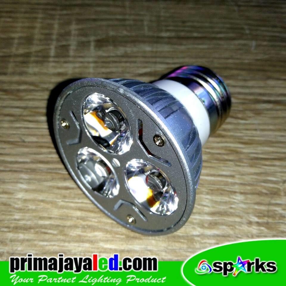 Jual Lampu LED E27 3 Watt Spotlight Harga Murah Jakarta