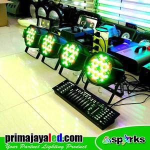 Lampu PAR Paket 4 Par 54 DMX