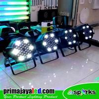 Lampu PAR Paket 4 Par LED 54 1