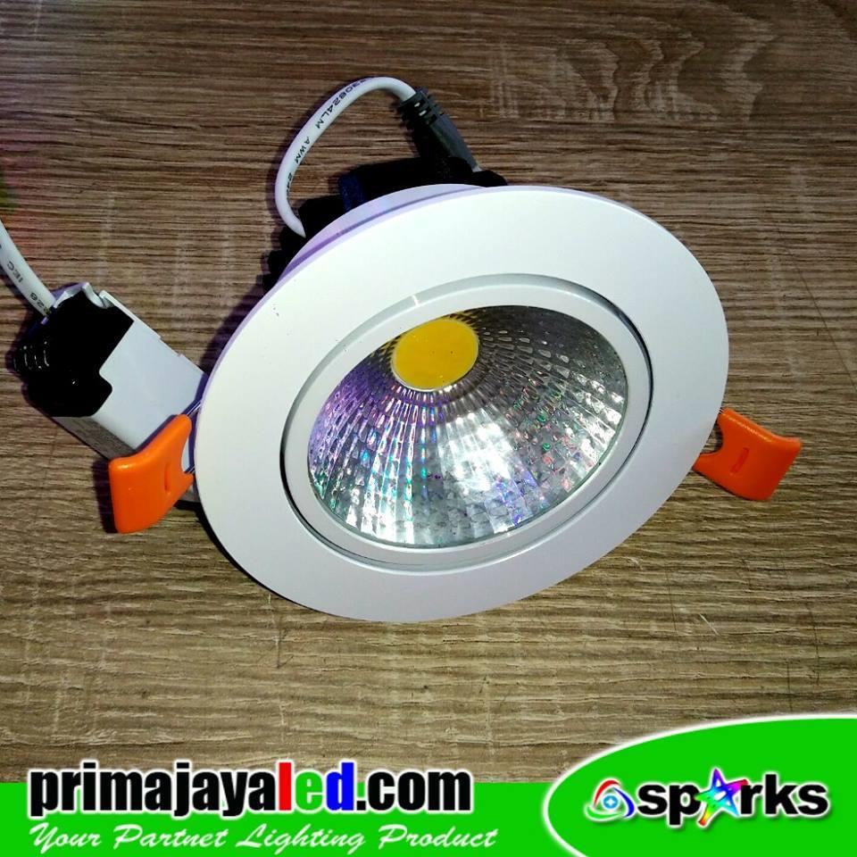 Jual Lampu LED COB Downlight 7 Watt Harga Murah Jakarta
