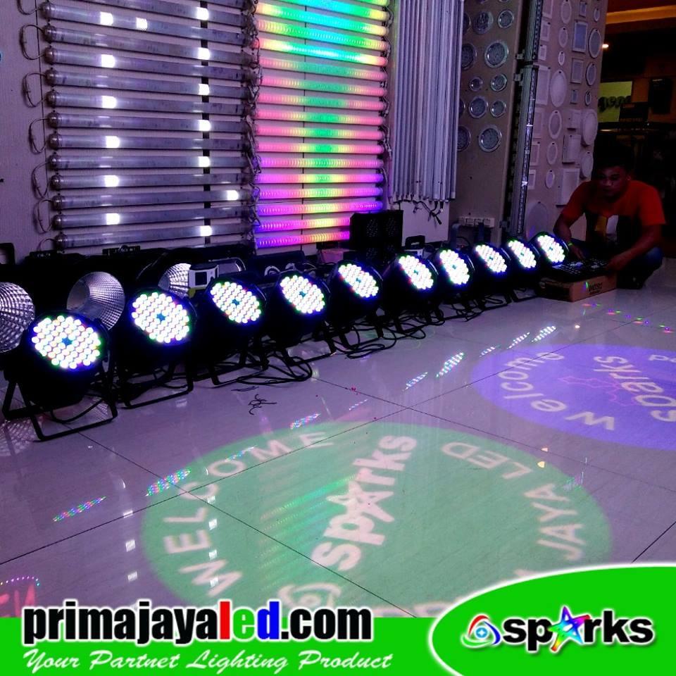 Jual Lampu LED PAR Paket 10 Par LED DMX Harga Murah