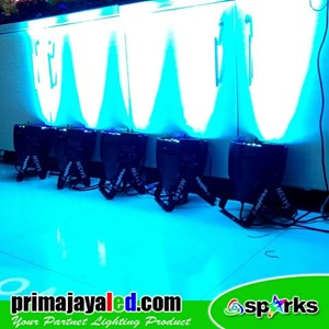 Lampu LED PAR Paket 5pcs 54 LED 3 Watt