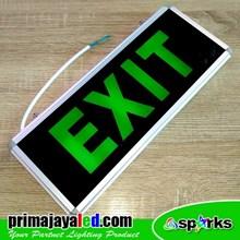 Lampu LED Sign Kaca Exit Murah