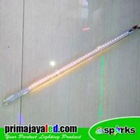 Lampu LED Meteor 80cm Kuning
