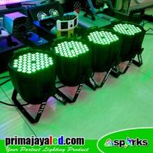 Lampu PAR LED Paket 4pcs 54 3in1 RGB
