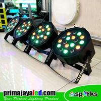 Lampu PAR Paket 4 Par 18 LED