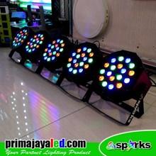 Lampu PAR Paket 5 Par LED 18 RGB
