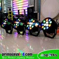 Lampu PAR Paket 4 Mini Par 12 LED