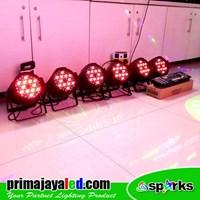 Lampu PAR Paket 6 Set Par 54 DMX 512 1