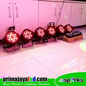 Lampu PAR Paket 6 Set Par 54 DMX 512