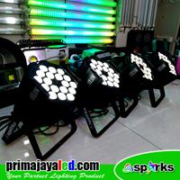 Lampu PAR Paket 4 Par LED 18 X 10 Watt