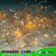 Lampu LED Tumbler Natal Kuning