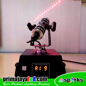 Lampu Laser Mini Moving Merah