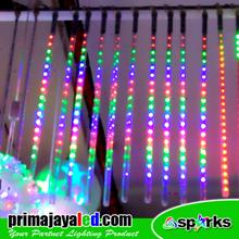 Lampu LED Meteor LED Set RGB 50cm