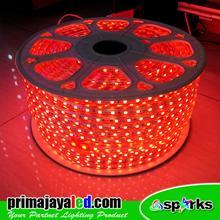 Lampu LED Flexible Selang Merah