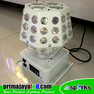 Lampu LED Disco Ball Prisma RGB