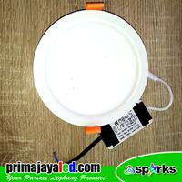 Lampu Downlight Panel LED Bulat 13W Primax