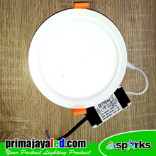 Lampu Downlight Panel LED Bulat 13W Primax