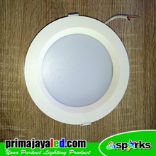 Lampu Downlight Panel LED Bulat 12W Luxwell