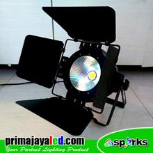 Lampu LED PAR Freshnel LED COB 200 Watt 3 Color