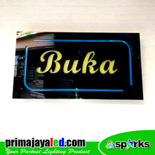 Lampu LED Sign LED Buka