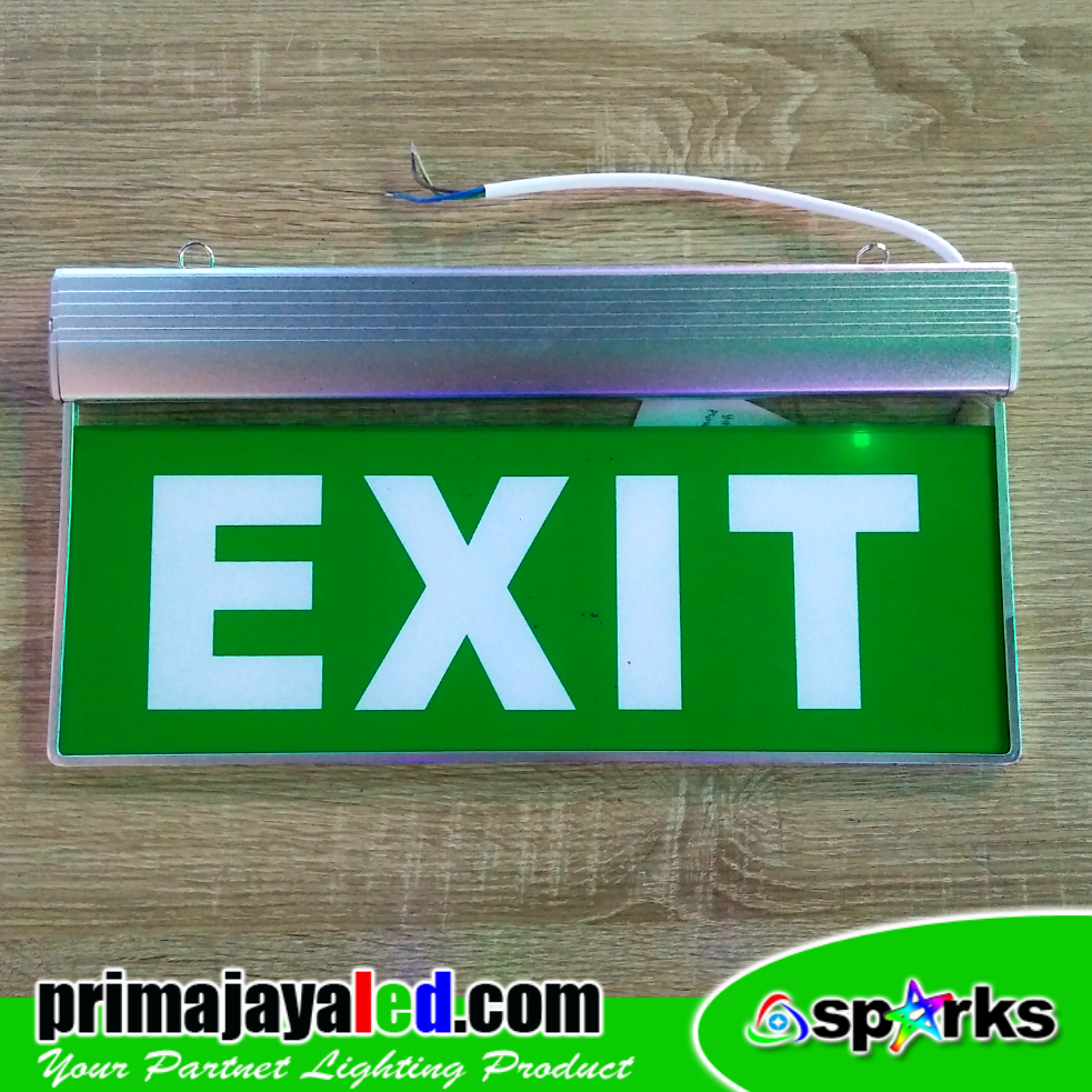 Jual Lampu Gantung Sign Led Emergency Exit Harga Murah