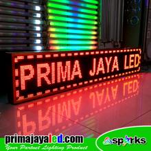 Lampu LED Running Teks LED 201 X 37 Merah