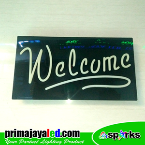 Lampu LED Sign LED Welcome Hand Writing
