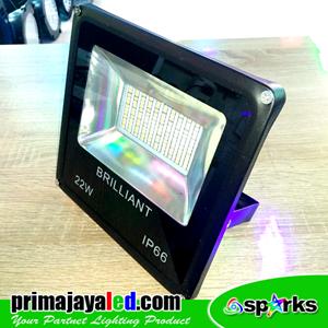 Lampu LED Tembak 22 Watt SMD