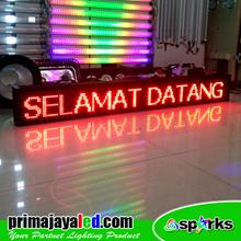 Lampu LED RUNNING TEKS LED 160cm Merah