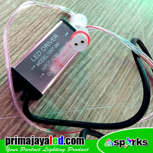 Trafo Power Supply LED Meteor 50cm